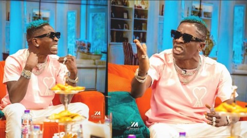 Children see what drugs do, Don't try to be like Shatta Wale who can't make sense on Tv after taking drugs – Netizen advises