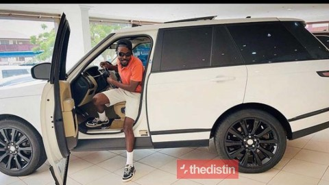 Rapper Kwawkese Sells His Range Rover HSE Supercharged After Going Broke (Photos)
