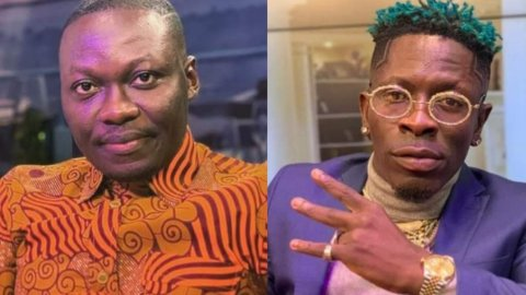 Shatta Wale subtly insults Arnold during TV interview