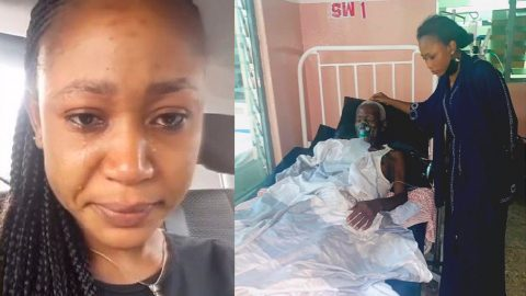 Akuapem Poloo Tears Up As She Loses Her Grandfather After Visiting Him On Sickbed