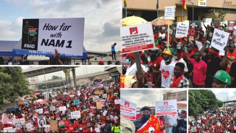 More Photos: FixTheCountry: Hundreds Of Youth March From Nkrumah Circle To Independence Square