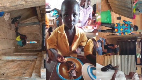 Sad: Video Of Where 'Fufu King' Daniel, His Mentally Unstable Mother And Siblings Sleep