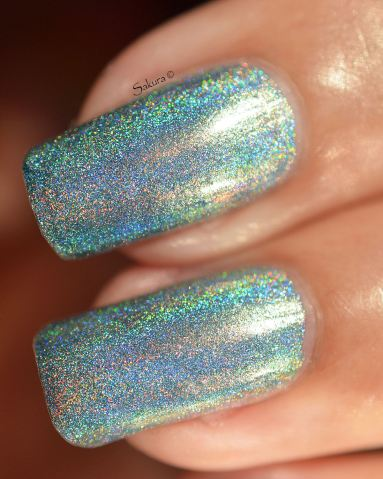 Cupcake Polish Remembering Blue