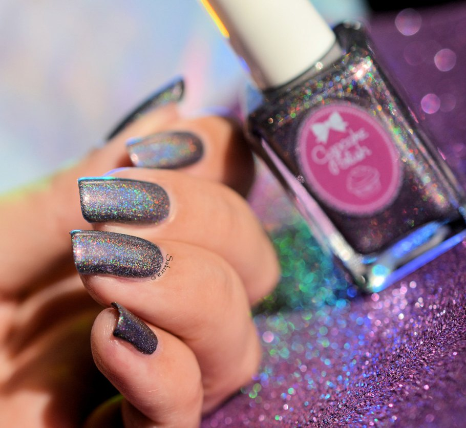 Cupcake Polish Neither Here Noir There