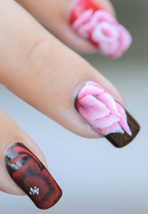 NAIL ART ONE TROKE ENTRAINEMENT