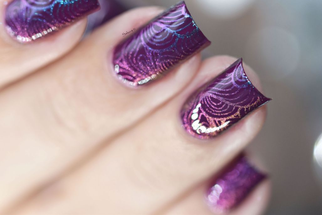 NAIL ART MULTICHROME VAGUES