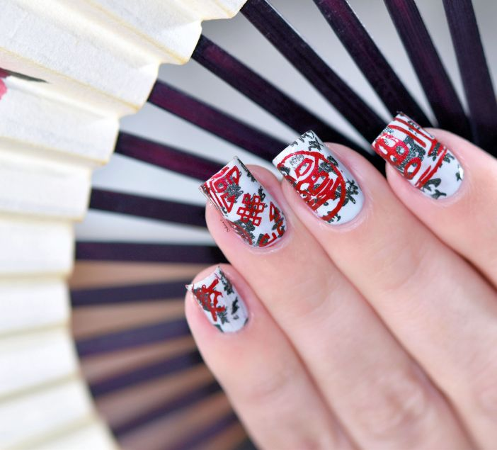 NAIL ART STAMPING YOURS ANNALEE
