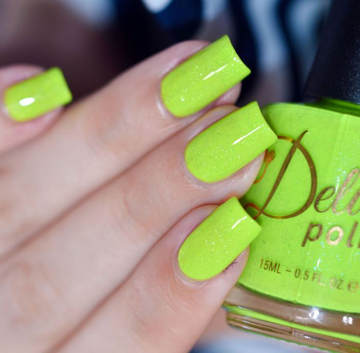 DELUSH POLISH DONT GET IT CITRUS 4