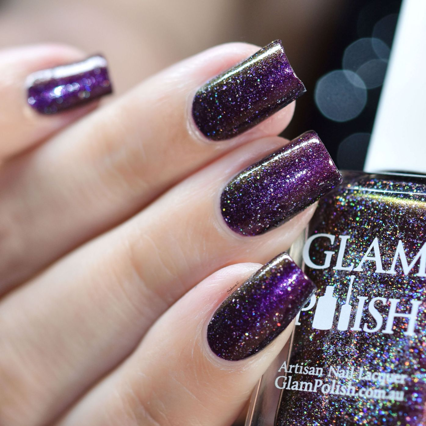 GLAMPOLISH DIM THE GHOST WITH THE MOST BABE 3