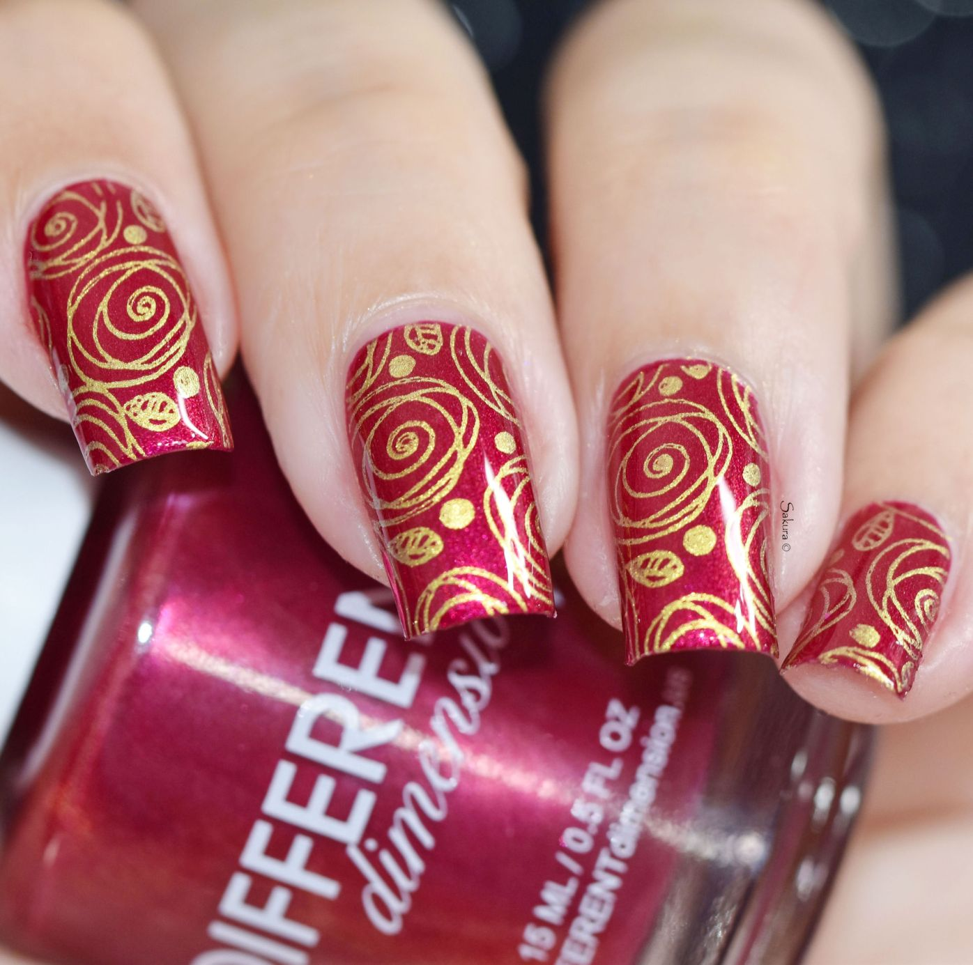 NAIL ART DIFFERENT DIMENSION 2