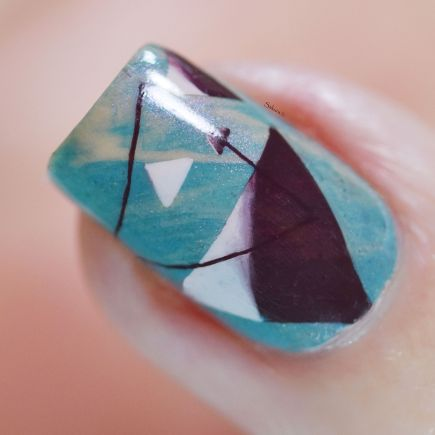 NAIL ART TRIANGLES COSY 6
