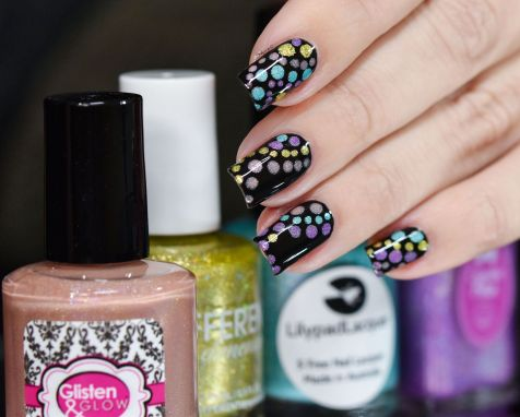 NAIL ART HOLO BUBBLES 7