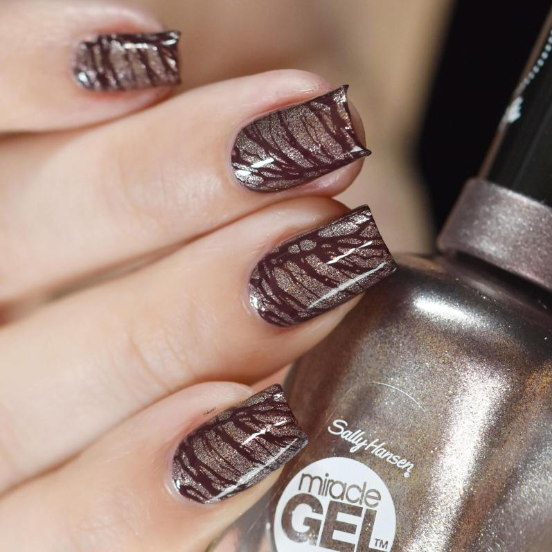 NAIL ART CHOCOLATE