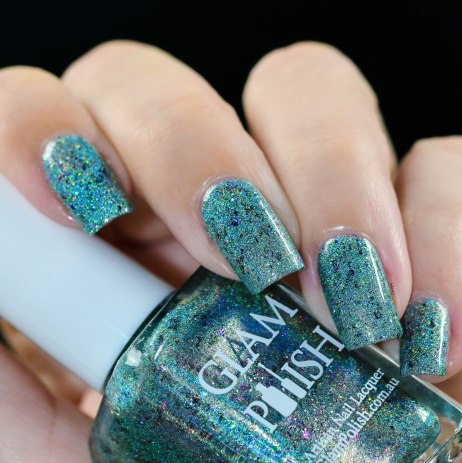 GLAMPOLISH Beach Please, I'm A Mermaid 4