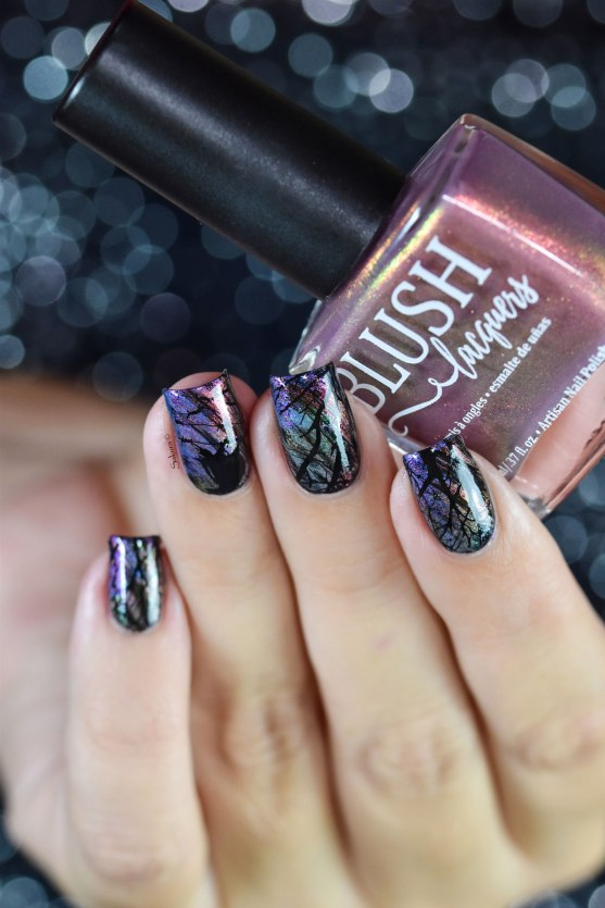 NAIL ART WINTER HALLOWEEN 3