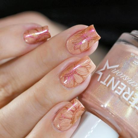 NAIL ART SOLAIRE 4