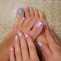 Cool Toe Nail Designs for Summer - Nail Art Designs 2017