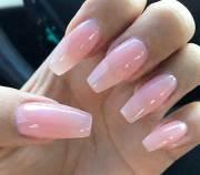light pink nail design 2017