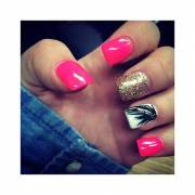 trendy nail design summer