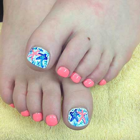 Cool Toe Nail Designs for Summer