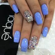 17 square nail design