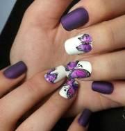 unique medium and short nails