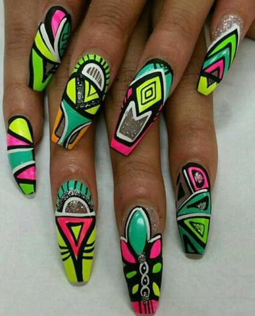 Really Unique Crazy Nail Designs
