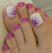 Toe Nail Designs On You - Nail Ftempo