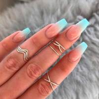 Must-See Ombre Colored Nail Designs
