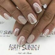 2018 wedding nail design