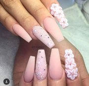 acrylic nail art design 2018