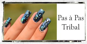 PAS A PAS NAIL ART TRIBAL BIS