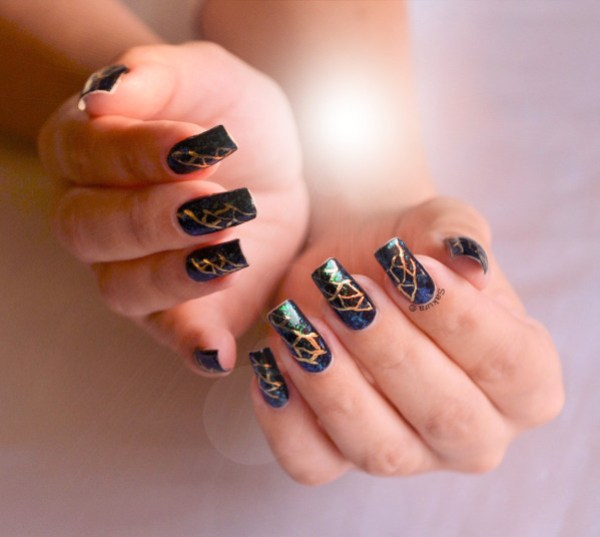 NAIL ART FOILS ABSTRAIT 3