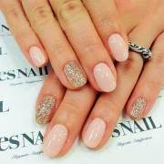 7 simple gel nail design