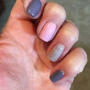 simple nail design short