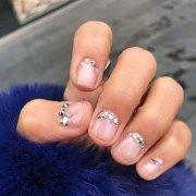 cute easy nail design short