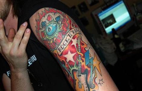 Rock N Roll Tattoo Ideas