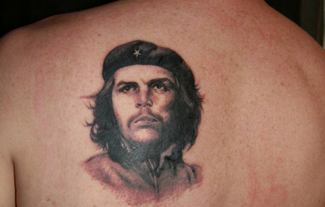 Che Guevara Hand Tattoo