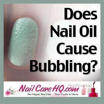 Nail Polish Bubbles Image