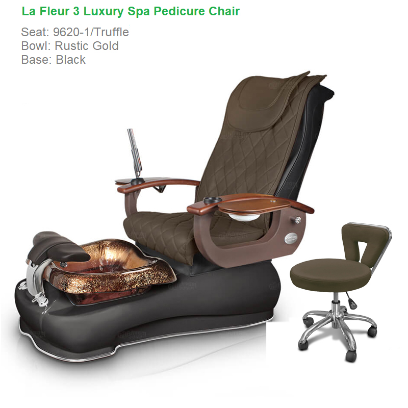 massage pedicure chair swing furniture la fleur 3 luxury spa with magnetic jet shiatsu system home gulfstream