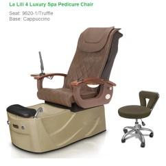 Massage Pedicure Chair Zefo Swing La Lili 4 Luxury Spa With Magnetic Jet Shiatsu Home Chairs
