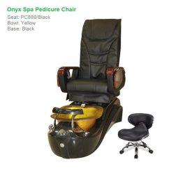 Massage Pedicure Chair Modern Morris Onyx Spa With Magnetic Jet Shiatsu System