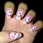 cool kitty nail art ideas