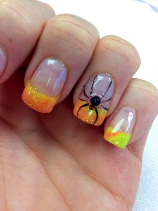 Halloween 3d Nails