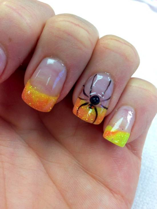 Halloween 3d Nails