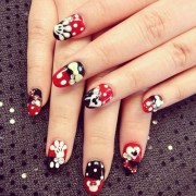 disney nail art design