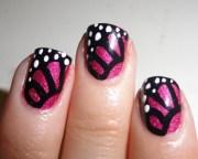 amazing butterfly nail art ideas