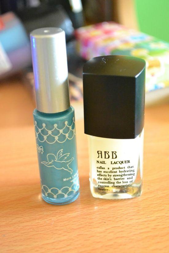matte finished nail paint