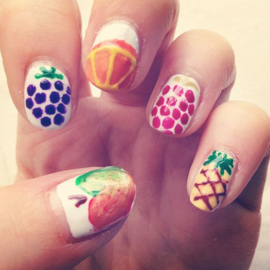 Fruit Nail Design