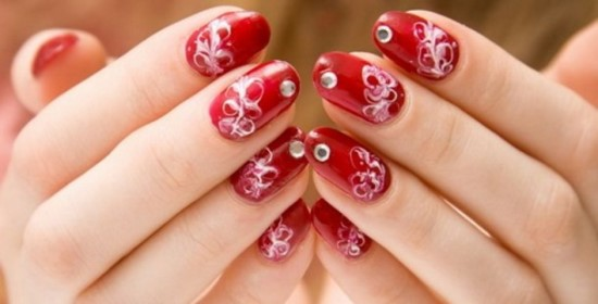 40 Red Wedding Nail Art Designs Design Ideaz